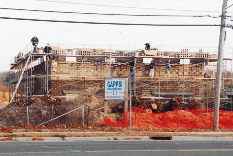 Beginning Construction of Gappsi Showroom 2004
