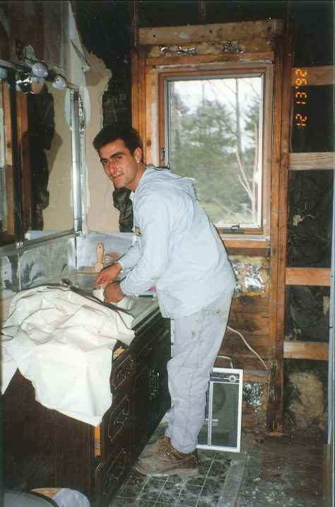 Remodeling A Bathroom 1992