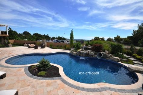 Baldwin NY 11510 Swimming Pools - Landscape & Masonry Designer  Contractor Company