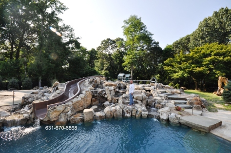 Bayville NY 11709 Swimming Pools - Landscape & Masonry Designer Contractor Company