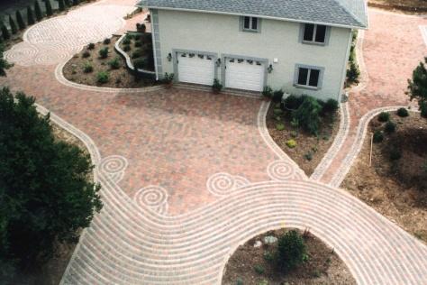 Circular driveway design Contractor