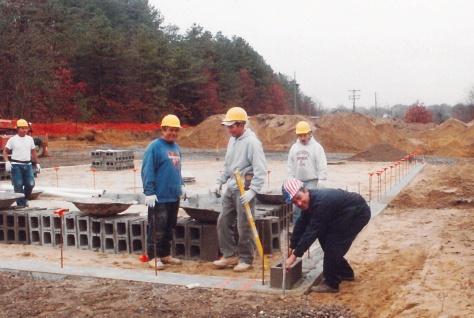 Gappsi Giuseppe Abbrancati starting building construction