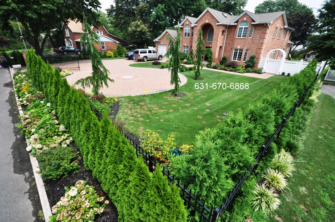 Privacy landscaping gappsi giuseppe abbrancati for Outdoor landscaping