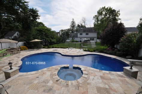 Travertine Pool Patio Designs