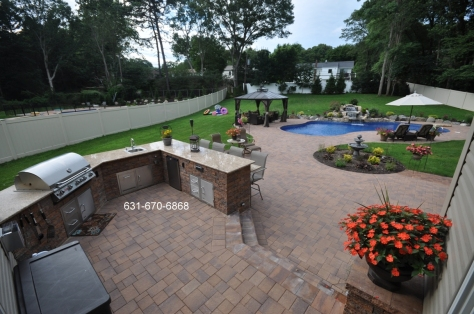 Outdoor kitchen Designer Contractor Long Island NY