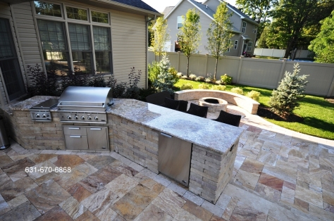 bbq island granite top east northport