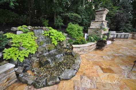Backyard Natural Waterfall Designs Long Island NY Gappsi