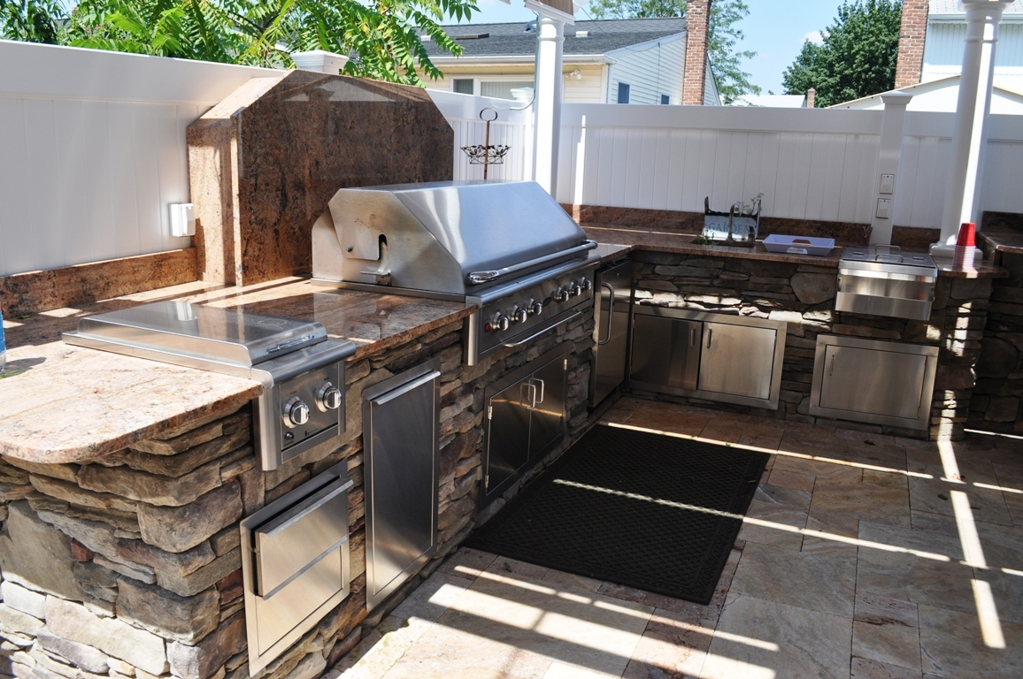 outdoor kitchen and bbq setting designer long island ny gappsi