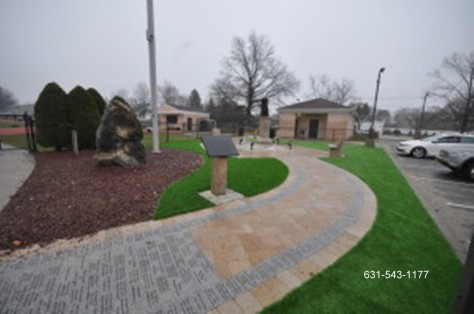 9/11 Memorial & Synthetic Turf Installation by Gappsi