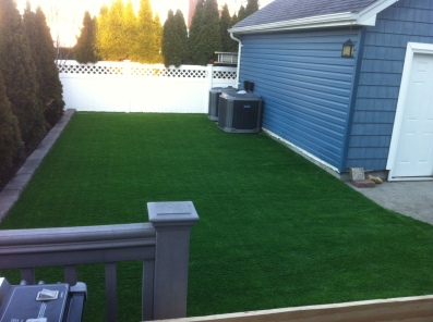 Synthetic Grass Lawn Installation by Gappsi