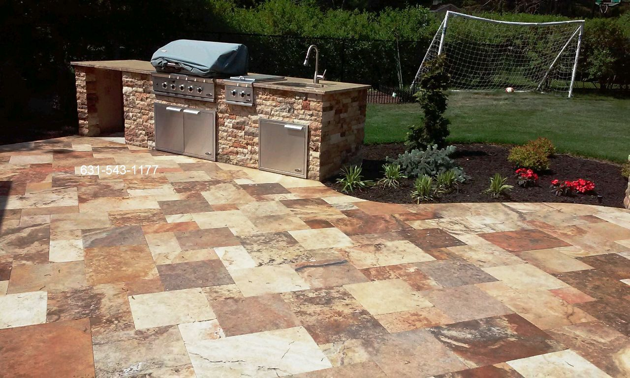 Travertine Patio Professionally Cleaned Amp Sealed Gappsi