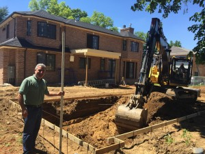 gunite swimming pool excavation in roslyn ny by gappsi