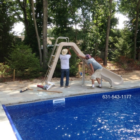 Inter-Fab Wild Ride Slide Supplier & Installer on Long Island
