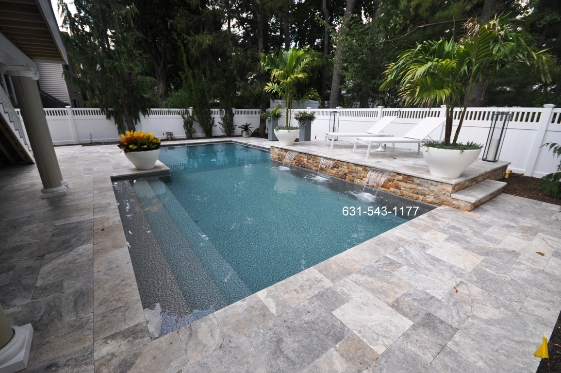 Swimming pool contractor designer company port for Swimming pool contractors