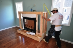 indoor gas fireplace unit Gappsi commack ny