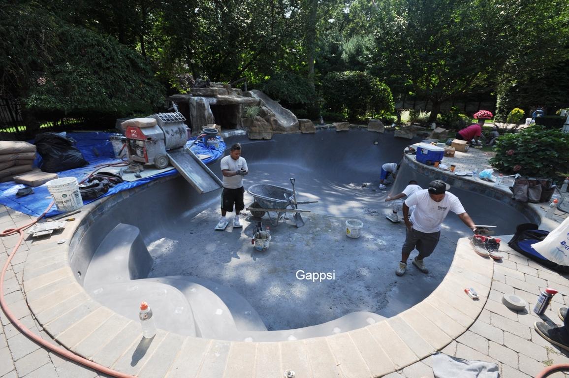 gunite pool cost. Pool Marble Dusting Company Servicing Nassau \u0026 Suffolk County Long Island NY ? Gunite Cost S