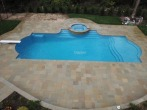 masonry design with double roman end gunite pool by gappsi