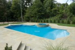 natural stone pool coping and patio by gappsi