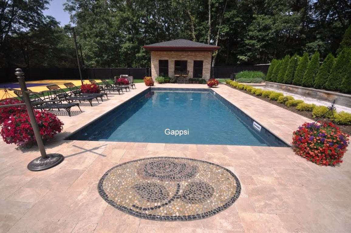 Complete backyard design and construction smithtown ny for Sport swimming pool design