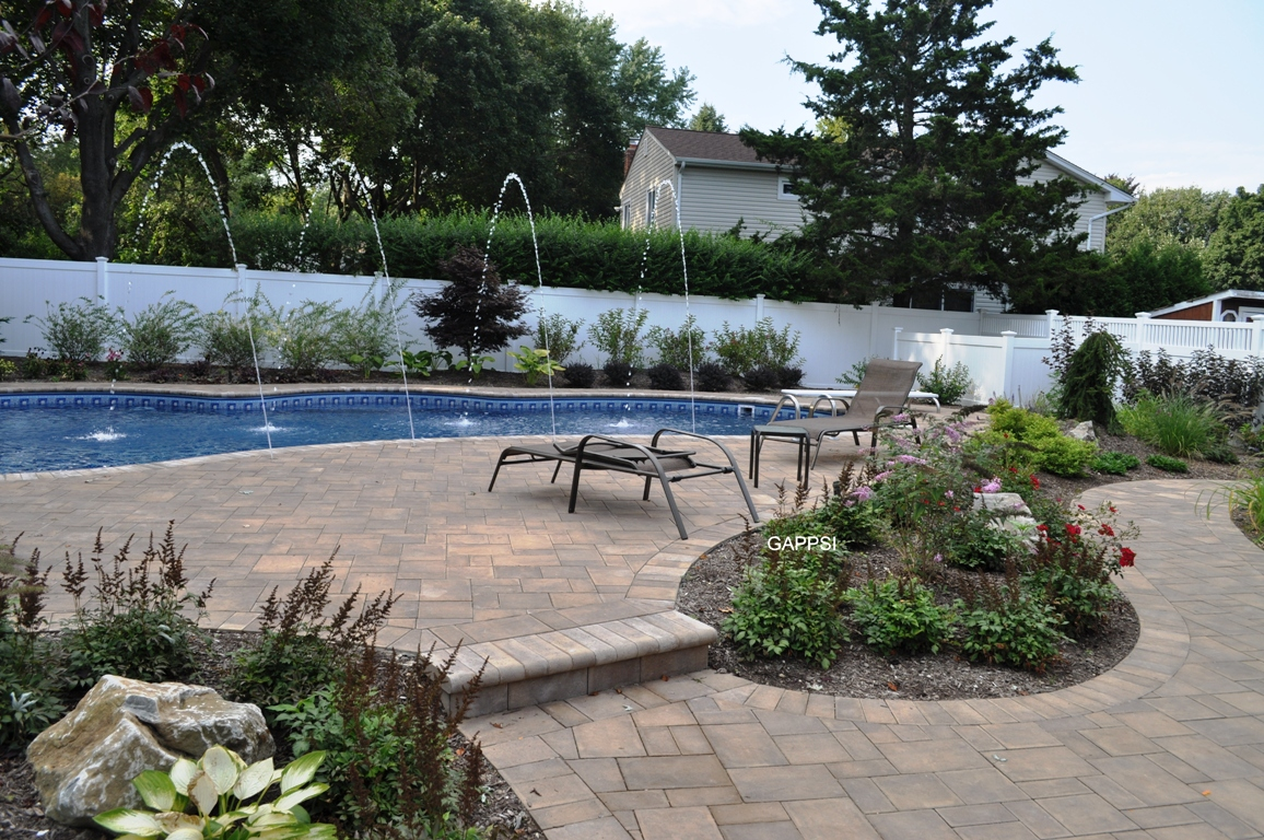 Cambridge Pavers, Pool, Patio And Coping Commack NY.
