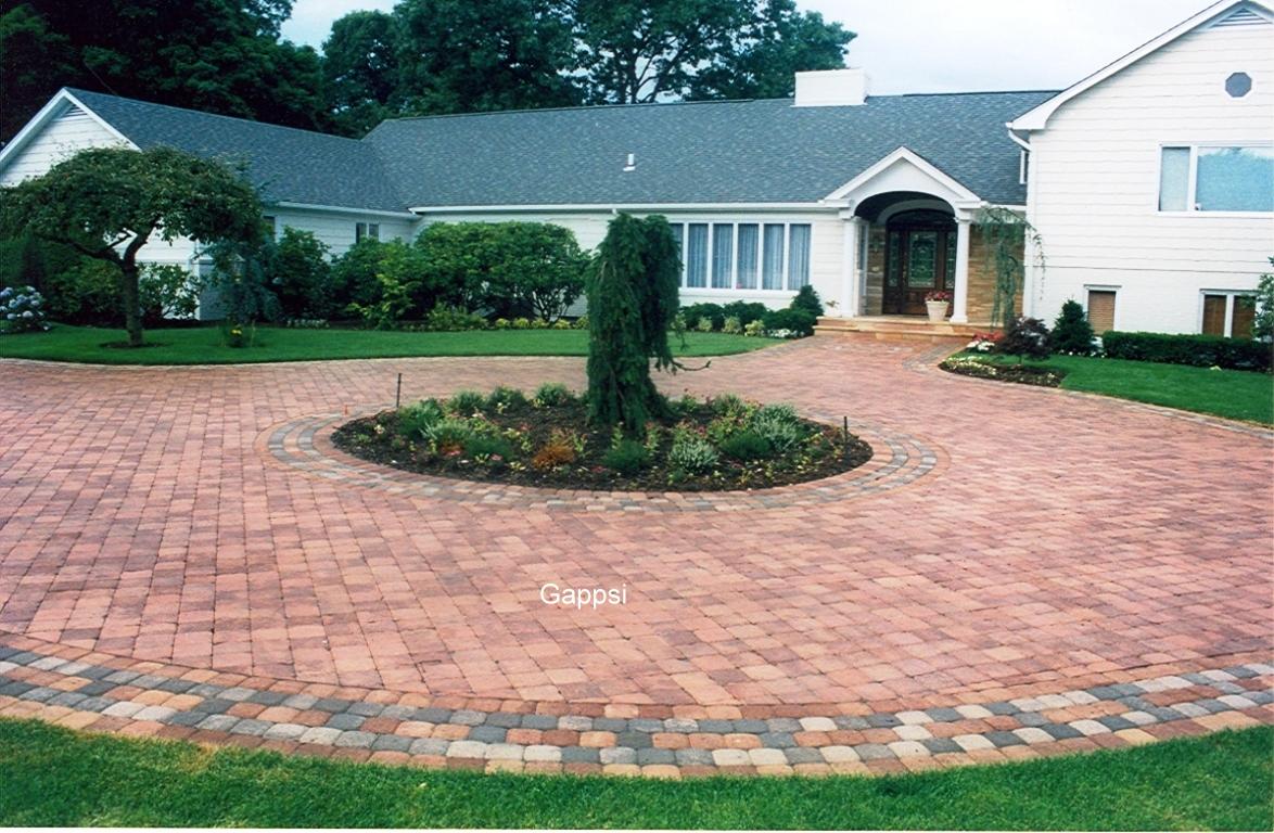 Circular driveway design setauket ny gappsi gappsi for Circular driveway layout