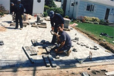 Pavers flag installation long island.bmp