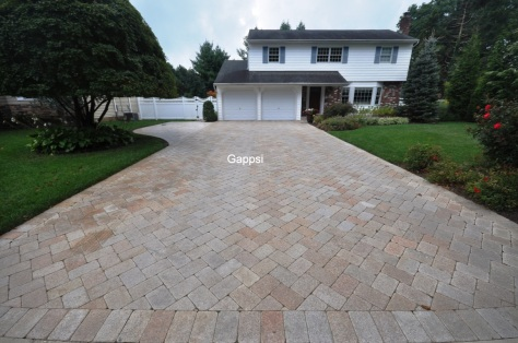 granite driveway picture design in smithtown ny-Gappsi