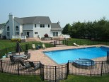 pool Patio Design with jaccuzi tub dix hills ny gappsi