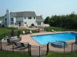 pool Patio Design with jaccuzi tub dix hills ny gappsi
